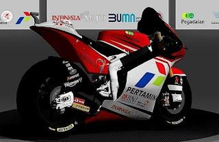 Ini Penampakan Motor Balap Mandalika Racing Team Indonesia Untuk Kejuaraan Motogp 2021