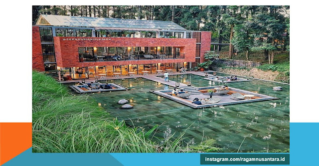 objek wisata the lake house bogor jawa barat