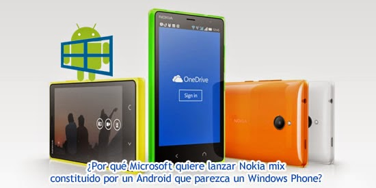 windows mix android