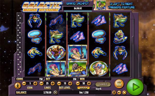 Main Gratis Slot Indonesia - Galactic Cash Habanero