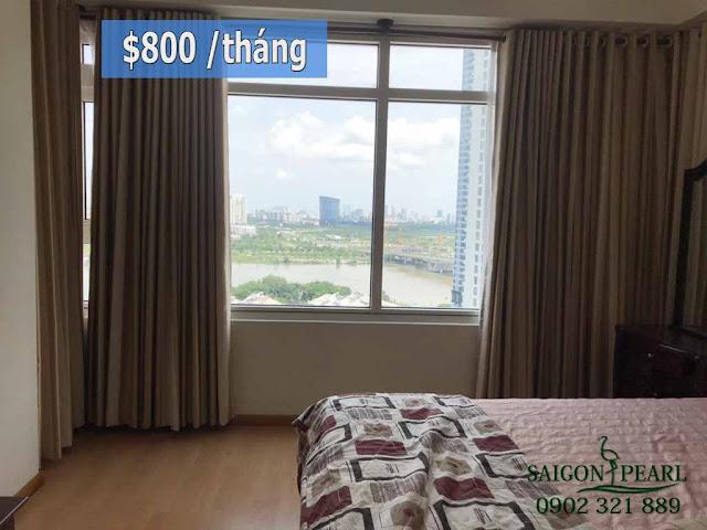 Cho thuê căn hộ chung cư Saigon Pearl Nguyễn Hữu Cảnh