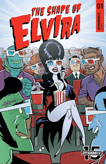 Cover B of The Shape of Elvira #1 from Dynamite Entertainment