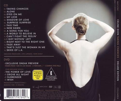 bol.com   Celine Dion - Taking Chances World Tour The