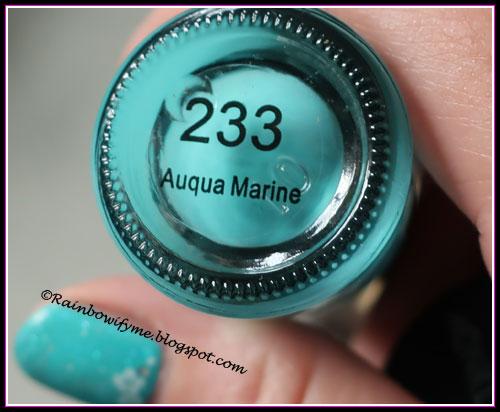 Dark Blond: Auqua Marine