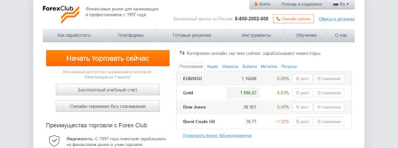 Мошеннический сайт fxclub.org – Отзывы, развод. Forex Club мошенники
