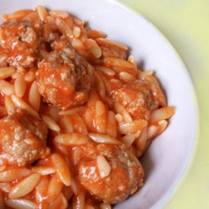 Pasta and Meatballs for Kids Recipe