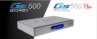 Resultado de imagem para GLOBALSAT GS500 E GS500 PLUS