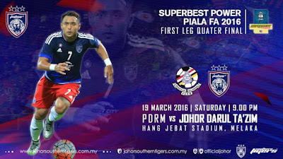 pdrm vs jdt 19 mac 2016