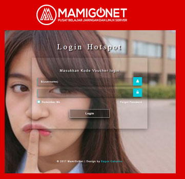 Template Login Page Mikrotik Keren Transparent V.01