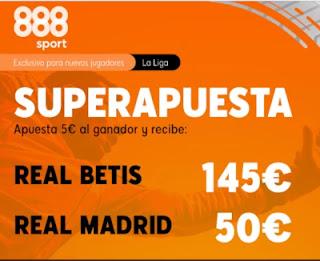 888sport Superapuesta Betis vs Real Madrid 26-9-2020