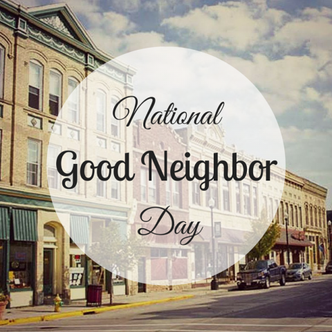 National Neighbor Day Wishes Images download