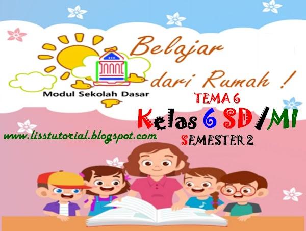 Modul BDR Tema 6 Semester 2 Kelas 6 SD/MI Kurikulum 2013