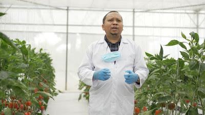 Prinsip Kehati-hatian Agro Jabar Sukseskan Petani Milenial