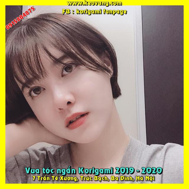 Vua Tóc Tomboy Korigami _ kiểu tóc ngắn Nàng Cỏ Goo Hye Sun