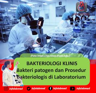 BAKTERIOLOGI KLINIS Bakteri patogen dan Prosedur Bakteriologis di Laboratorium