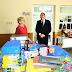 El intendente Jofré visitó el CDI del barrio San Miguel e hizo entrega de útiles escolares
