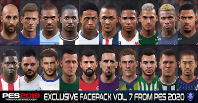PES 2019 Exclusive Facepack Vol. 7 by Sofyan Andri