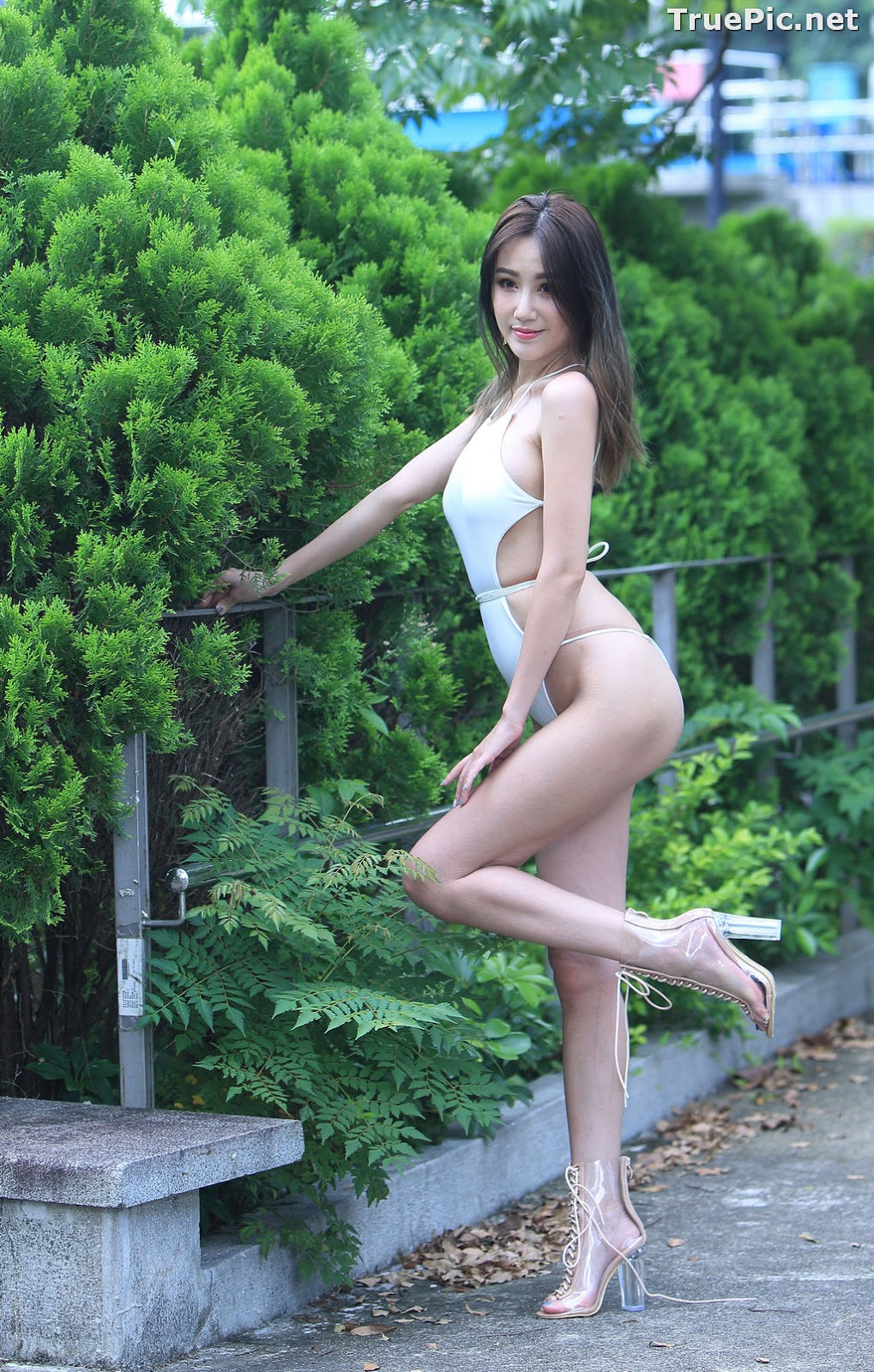 Image Taiwanese Beautiful Model - Suki - White Sexy Bikini Girl - TruePic.net - Picture-9