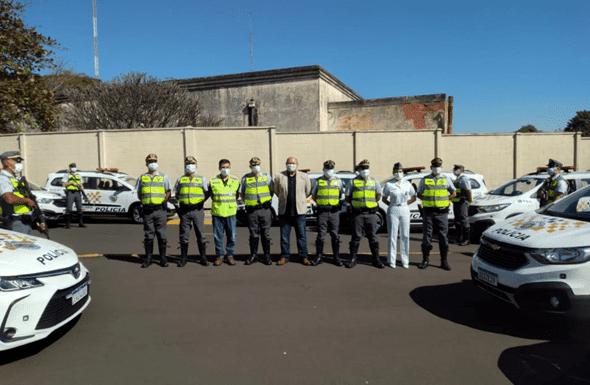 ixo SP entrega 36 viaturas para policiamento rodoviário