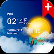 Transparent clock weather Pro Paid APK