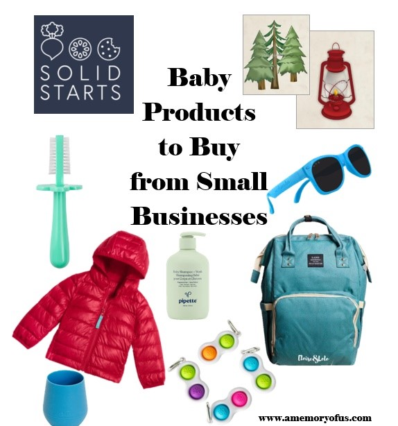Baby Products to Buy From Small Businesses | Small Businesses to Buy Baby Products From | A Memory of Us