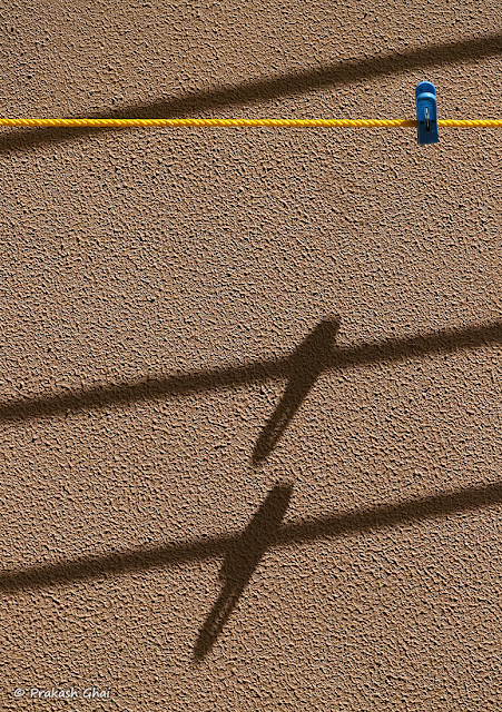 Long Shadow of Clothespin on Textured Wall Shot by Canon 6D Mark II Camera with Canon 100mm Prime F/2.8 L Series Lens