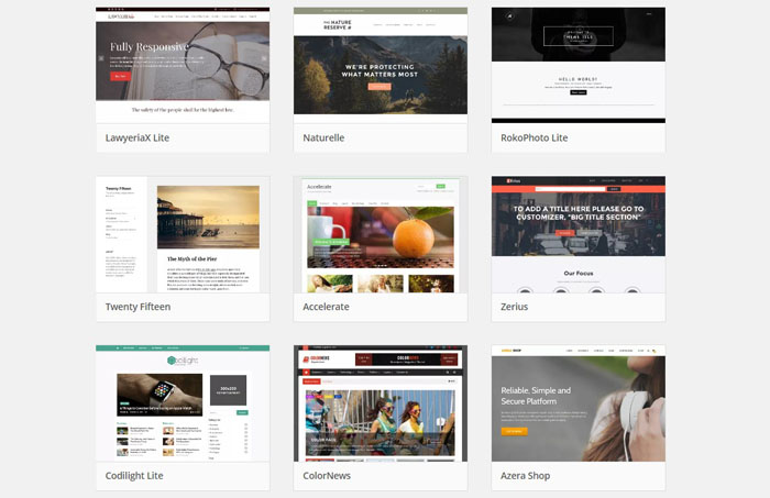 theme wordpress premium gratis