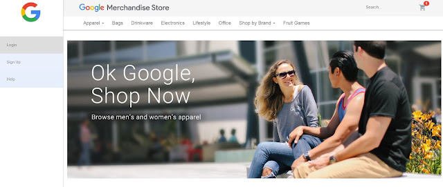 GA Demo Account示範帳戶追蹤Google官方商城