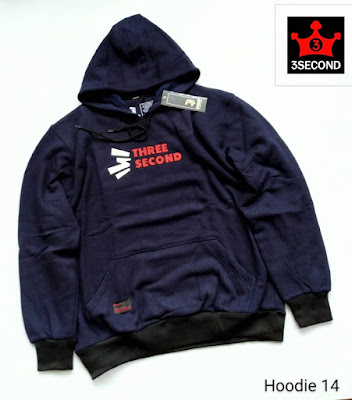 HOODIE DISTRO THREESECOND (H14)