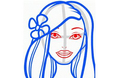 كيفية رسم العروسة باربي بالصور