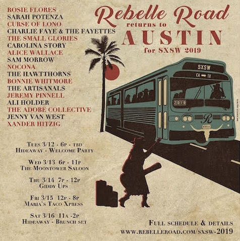 Americana Daily: Rebelle Road Heads to Austin for SXSW and