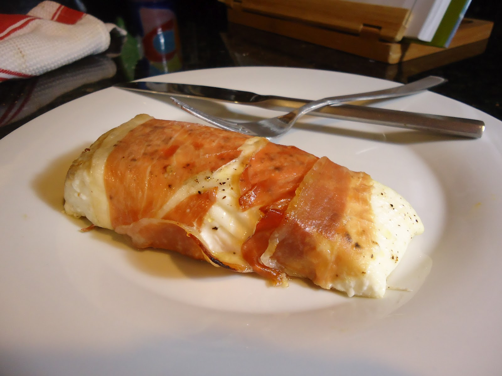 Grilled Striped Bass Recipes Barefoot Contessa a hungry teacher..: prosciutto roasted halibut