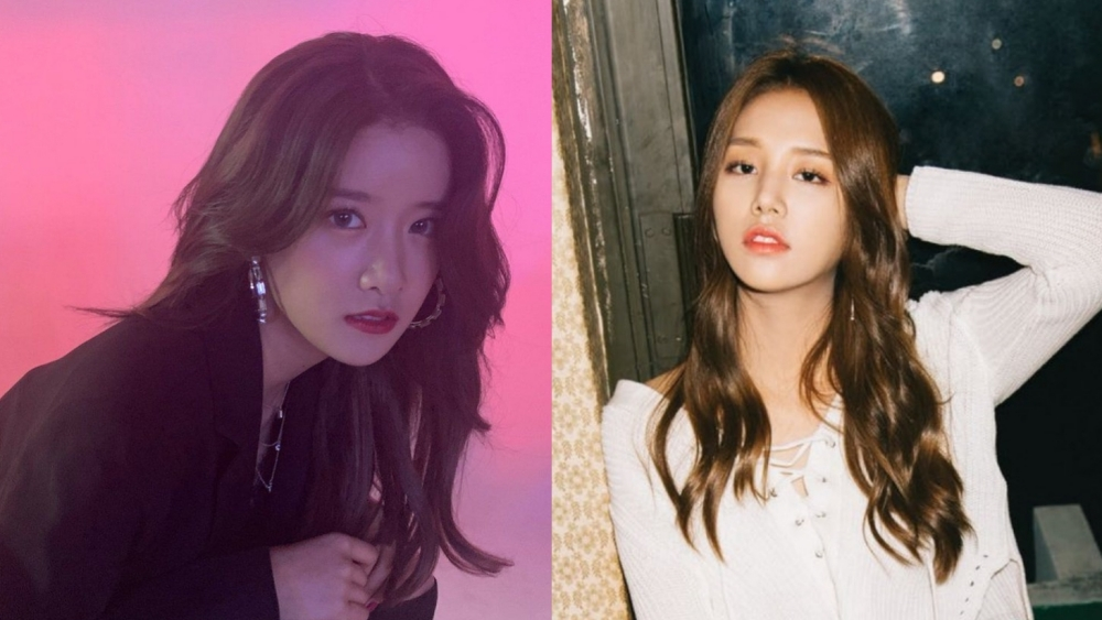 Filming a Drama with EXID's Hani, Agency Releases WJSN's Exy and Laboum's Solbin PCR Test Results