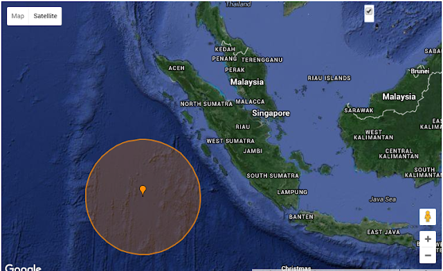 Gempa Bumi Indonesia Magnitud 7.9 2 Mac 2016