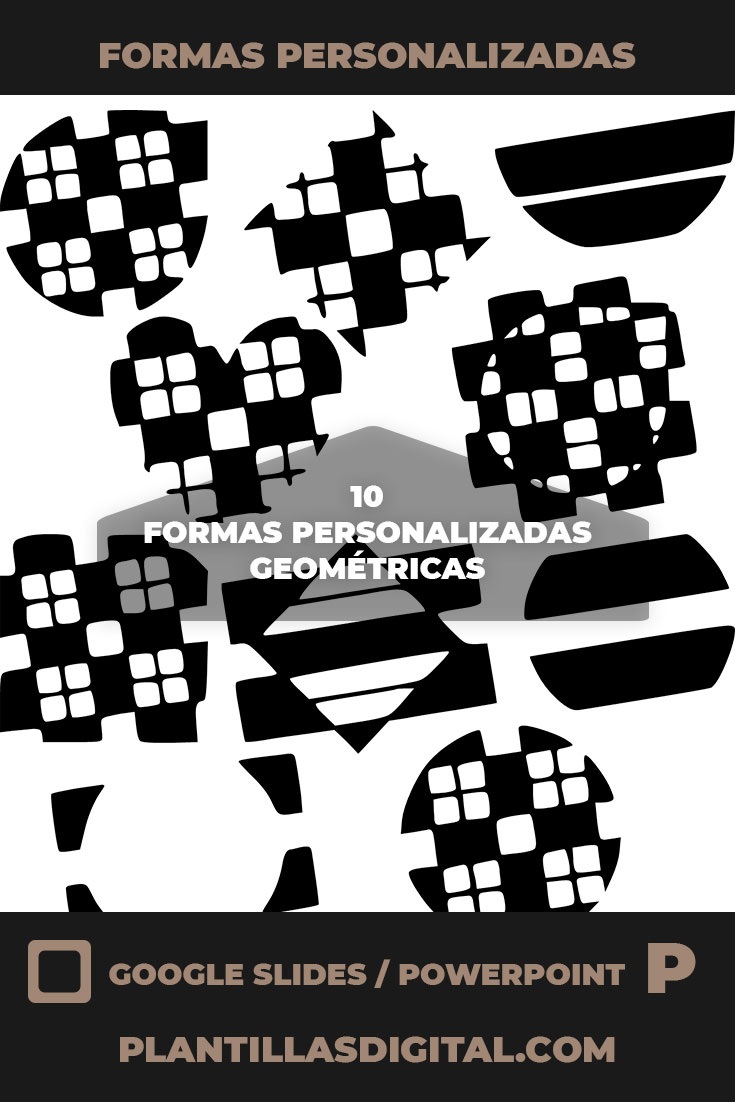 formas personalizadas geometricas 3