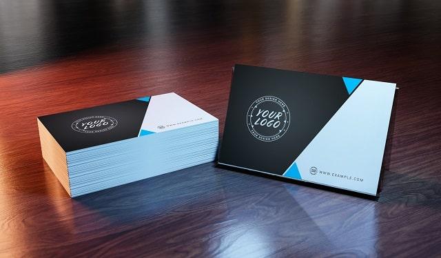 modern business card design trends