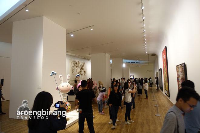 suasana museum macan modern and contemporary art in nusantara jakarta barat