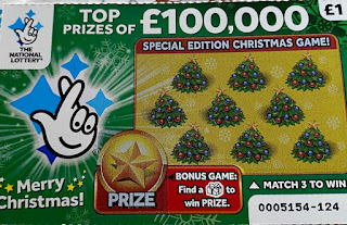 £1 Christmas Scratchcard 2019