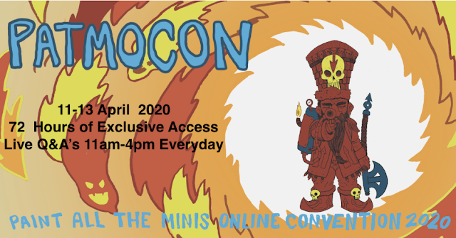 Virtual Conventions Arise.... Welcome to Patmocon