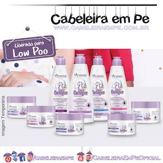 Shampoo, Condicionador, Máscaras, Cremes de Pentear (Liberados para Low Poo) Creme 2 em 1 e Geleias (Liberados para No Poo) Cachinhos Naturais - Arvensis