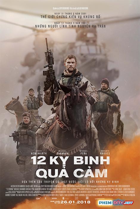 12 Kỵ Binh Quả Cảm - 12 Strong (2018)
