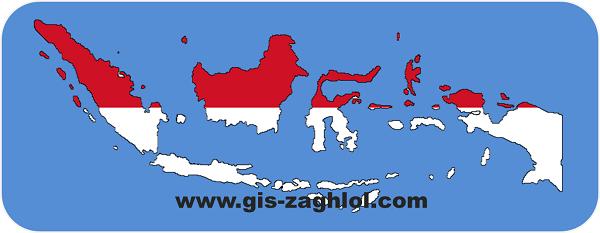 تحميل خرائط رقمية لإندونيسيا Download digital maps of indonesia
