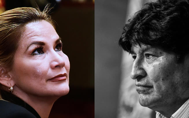 Piden a Jeanine Áñez no caer en errores de Evo Morales
