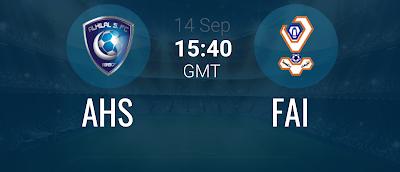 مشاهدة مباراة الهلال و الفيحاء بث مباشر اليوم 14-9-2019 في الدوري السعودي