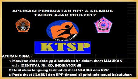 Aplikasi RPP dan Silabus Sekolah Dasar (SD) Otomatis