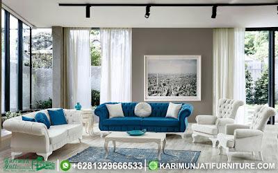 Set Sofa Tamu Mewah Modern Shabby