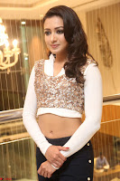 Catherine Tresa in a White Glittering Crop Top Black Leggings  Exclusive 024.JPG