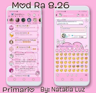 Imoji Theme For YOWhatsApp & Fouad WhatsApp By Natalia Luz