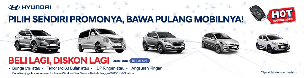Promo Hyundai Bunga 0 Persen