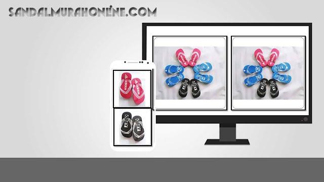 Pusat Grosiran Sandal Anak Rp.5.000 di bandung